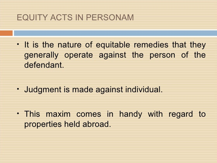 UK Equity & Trust Law cases