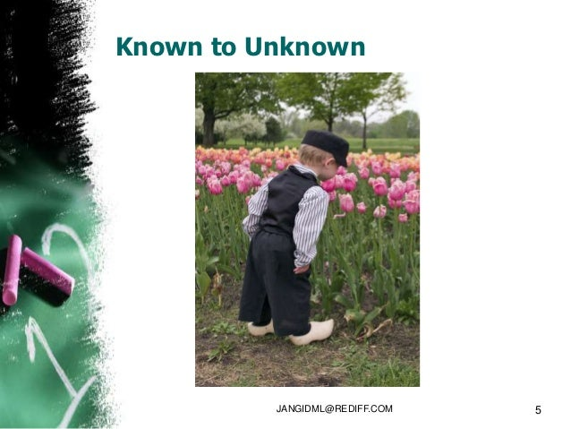Known to Unknown          JANGIDML@REDIFF.COM   5