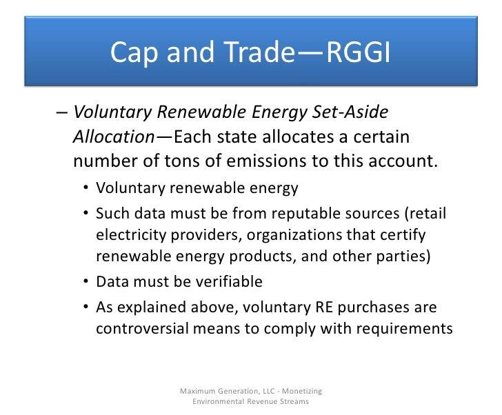 Maximum Generation Llc Monetizing Environmental Revenue