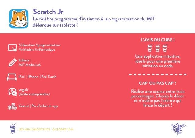 Sélection d'applications pour les enfants de 6 à 11 ans - Octobre 2014 Slide 3