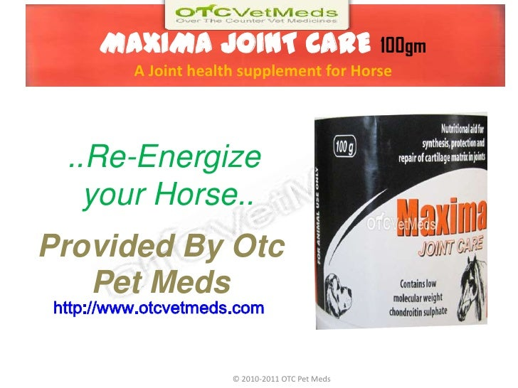 MAXIMA JOINT CARE 100gmA Joint health supplement for Horse<br />..Re-Energize<br /> your Horse..<br />Provided By Otc Pet ...