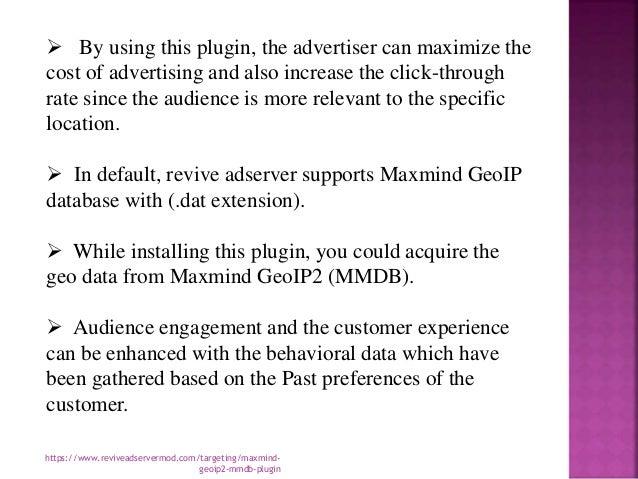 Maxmind geo ip2 mmdb plugin to enhance your business