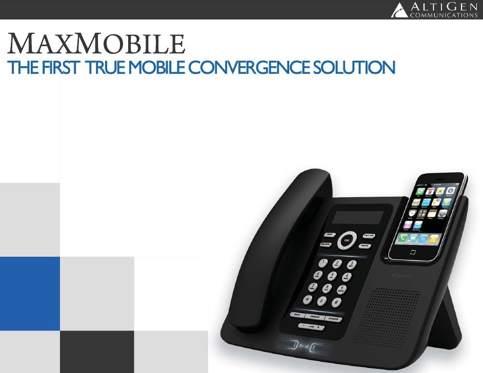 Page 1                                        MaxMobile - A Complete Mobile Communications Solution                       ...