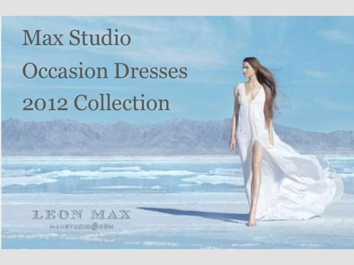 Max StudioOccasion Dresses2012 Collection
