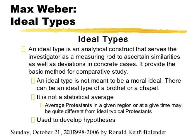Essay on the Weber's Theory of Bureaucracy