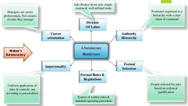 Rules And Regulation Of A Bureaucratic Organization