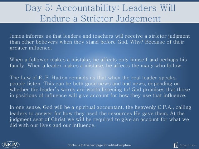 6 Characteristics of Biblical Leaders