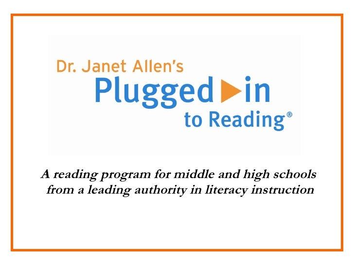 A reading program for middle and high schools  from a leading authority in literacy instruction