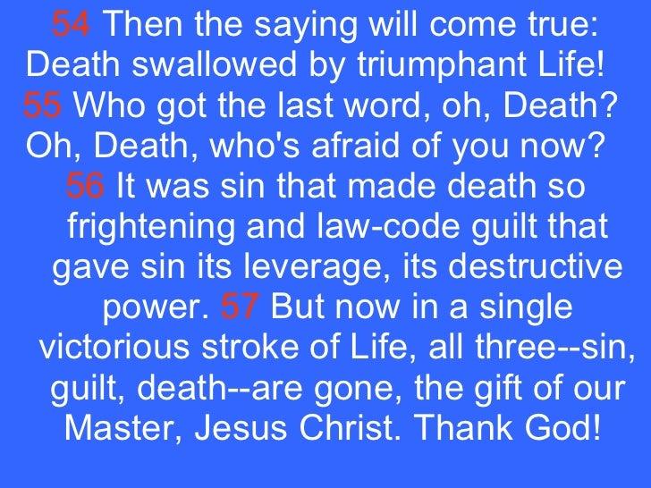 May 13-19-07 1 Corinthians 10, 13, 15