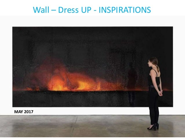 Wall – Dress UP - INSPIRATIONS MAY 2017
