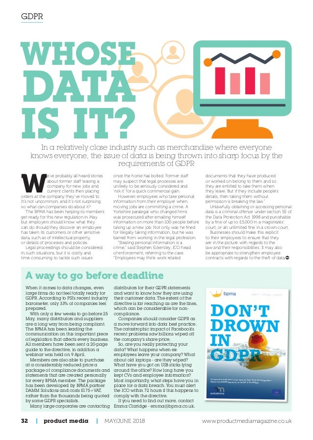 Product Media Magazine: May - June 2018