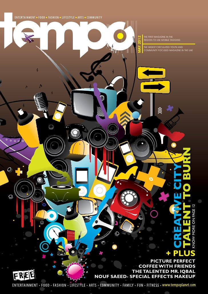 THE FIRST MAGAZINE IN THE              MAY 2012                         REGION TO USE MOBILE TAGGING                      ...