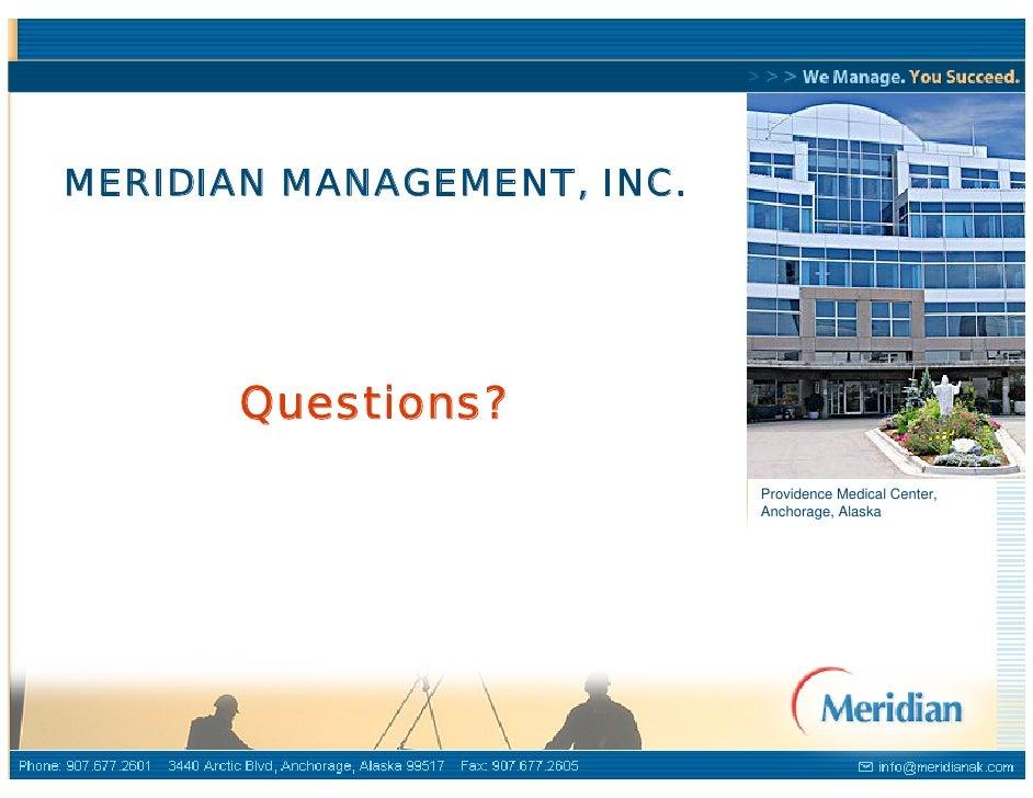 Meridian Capabilities Presentation