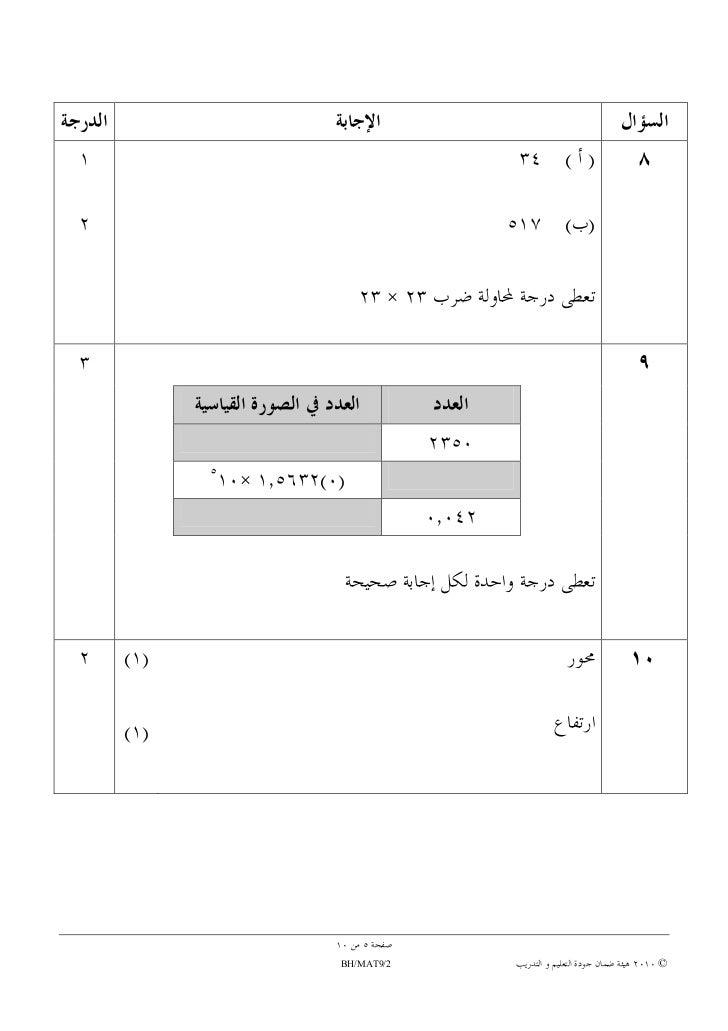 Grade 9 2010 Final Exam Papers - grade 9 final exam papers