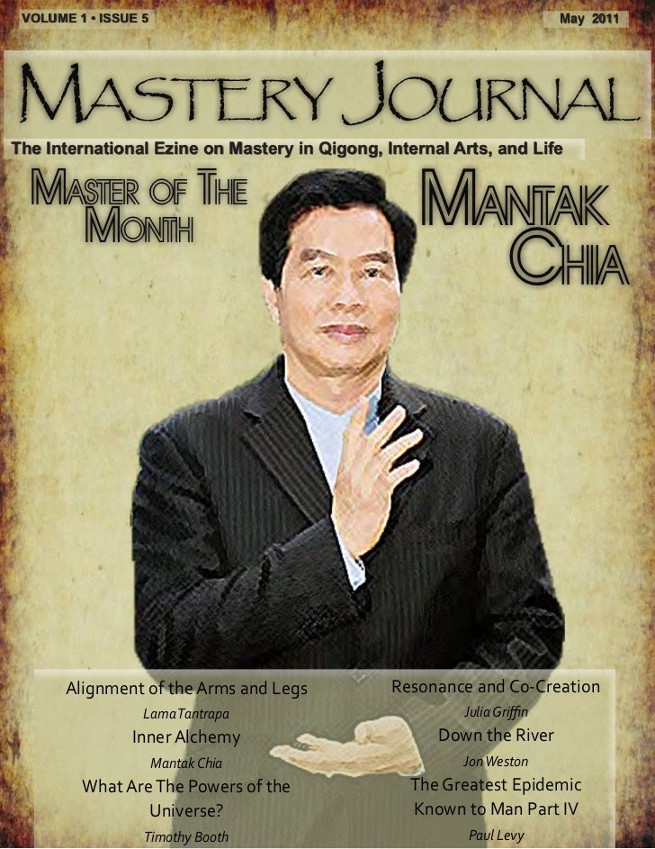 VOLUME 1 • ISSUE 5                                                     May 2011Mastery JournalThe International Ezine on M...