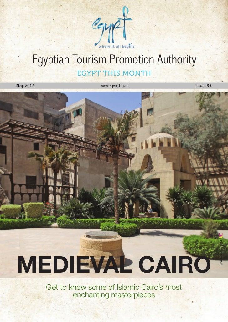 Egyptian Tourism Promotion Authority                    EGYPT THIS MONTHMay 2012                   www.egypt.travel       ...
