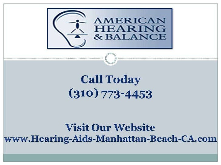 Picking the RightHearing Aid for Your     Situation              (310) 773-4453 www.Hearing-Aids-Manhattan-Beach-CA.com