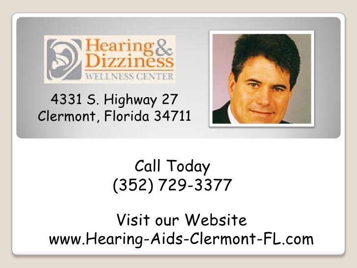 4331 S. Highway 27Clermont, Florida 34711              Call Today           (352) 729-3377        Visit our Website www.He...