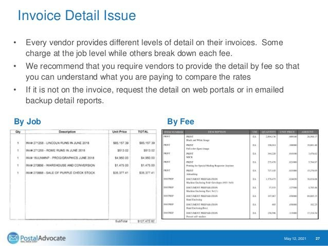 Service Fee Variability May 12, 2021 28 Was the job put out to bid or was in an add on project to an existing provider? Do...