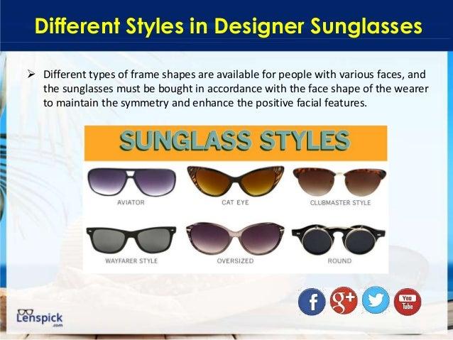 sunglasses types