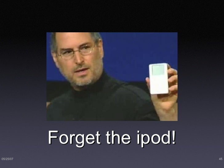 Forget the ipod!