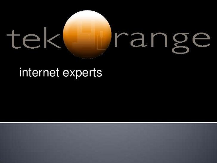 internet experts<br />