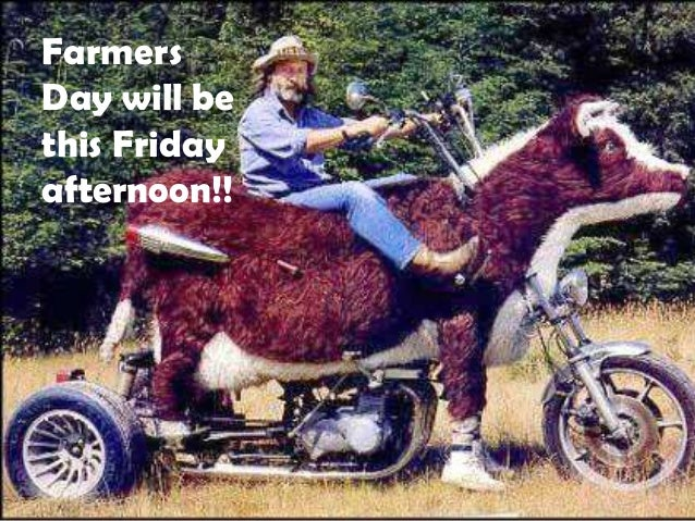FarmersDay will bethis Fridayafternoon!!