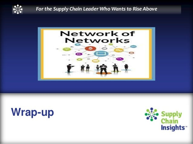 Network of Networks Share Group Spring Update