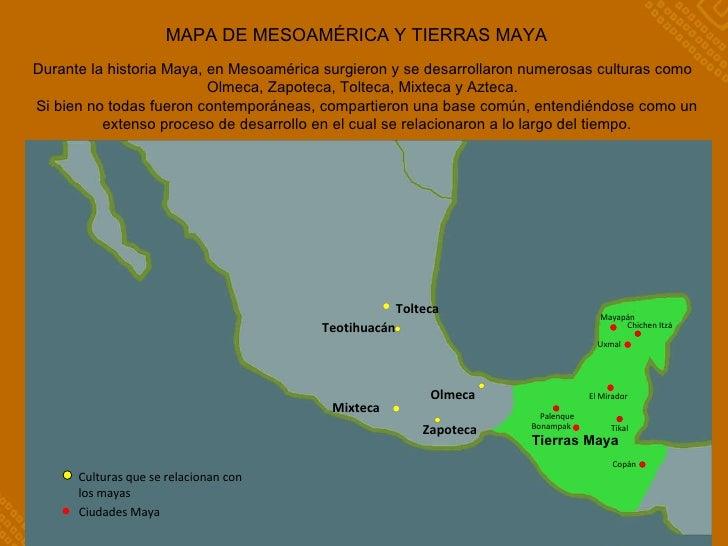 Mesoam rica y la cultura maya for Cultura maya ubicacion
