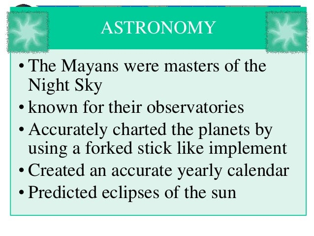 mayan knowledge of astronomy - photo #15