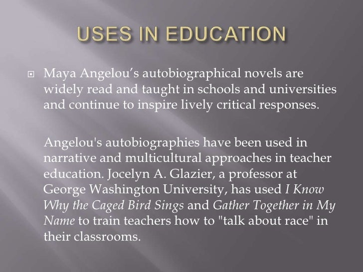 maya angelou research paper Maya angelou - research paper 9 pages 2177 words december 2014 saved essays save your essays here so you can locate them quickly.