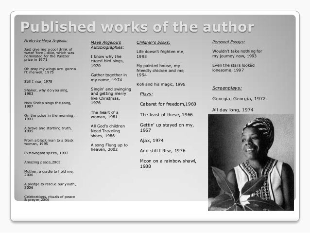 a angelou power point 6