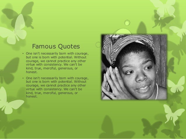 Maya Angelou Slideshow