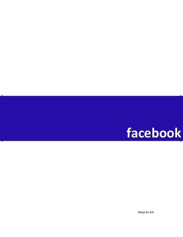 facebook            MayaELKik