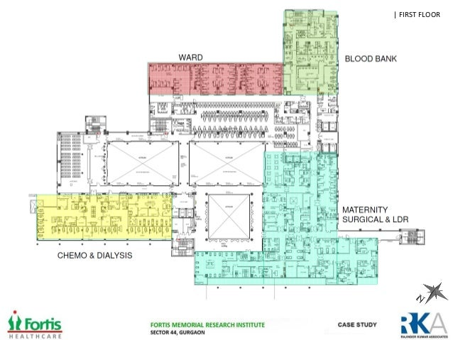 Fortis Memorial Research Institute Gurgaon on Hospital Room Floor Plan