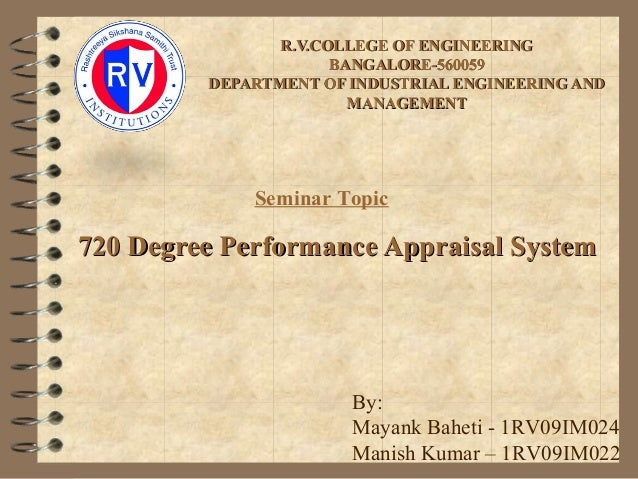 R.V.COLLEGE OF ENGINEERINGR.V.COLLEGE OF ENGINEERINGBANGALORE-560059BANGALORE-560059DEPARTMENT OF INDUSTRIAL ENGINEERING A...
