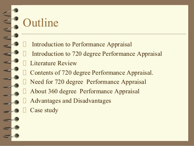 720 degree performance appraisal Performance appraisal means to evaluate the performance of literature review on theories of performance appraisal 360 degree appraisal and.