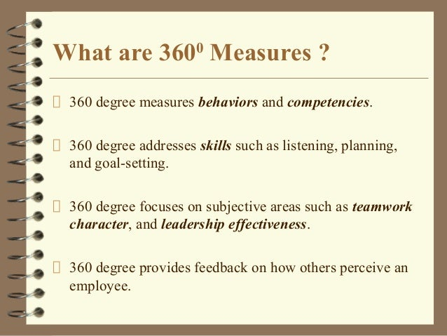720 degree feedback Maximizing your 360°–720° feedback roi what is a 360 vs 720 degree feedback what leads to a successful 360°/720° and how does that maximizes your.