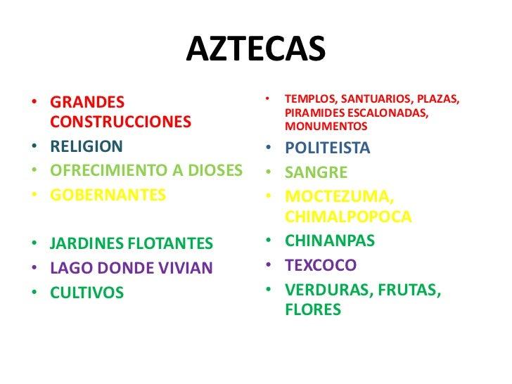 inventos de los aztecas