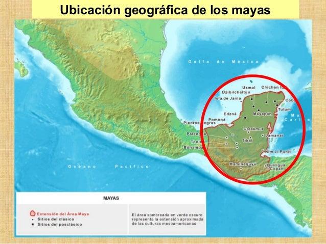 Mayas y aztecas for Cultura maya ubicacion