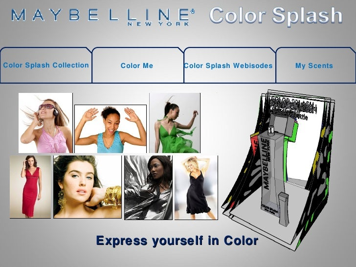 Color Splash Collection Color Me Color Splash Webisodes My Scents Express yourself in Color