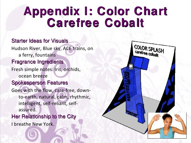 Appendix I: Color Chart Carefree Cobalt <ul><li>Starter Ideas for Visuals </li></ul><ul><li>Hudson River, Blue sky, ACE tr...