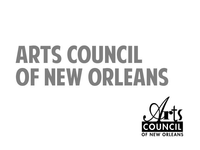 ARTS COUNCIL OF NEW ORLEANS
