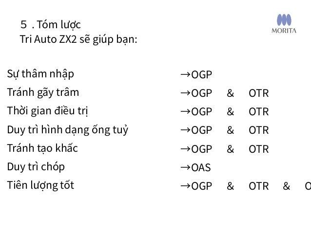 Viết tắt • OAS: Optimum Apical Stop: Điểm dừng tối ưu vùng chóp • OGP: Optimum Glide Path: Đường trượt tối ưu • OTR: Optim...