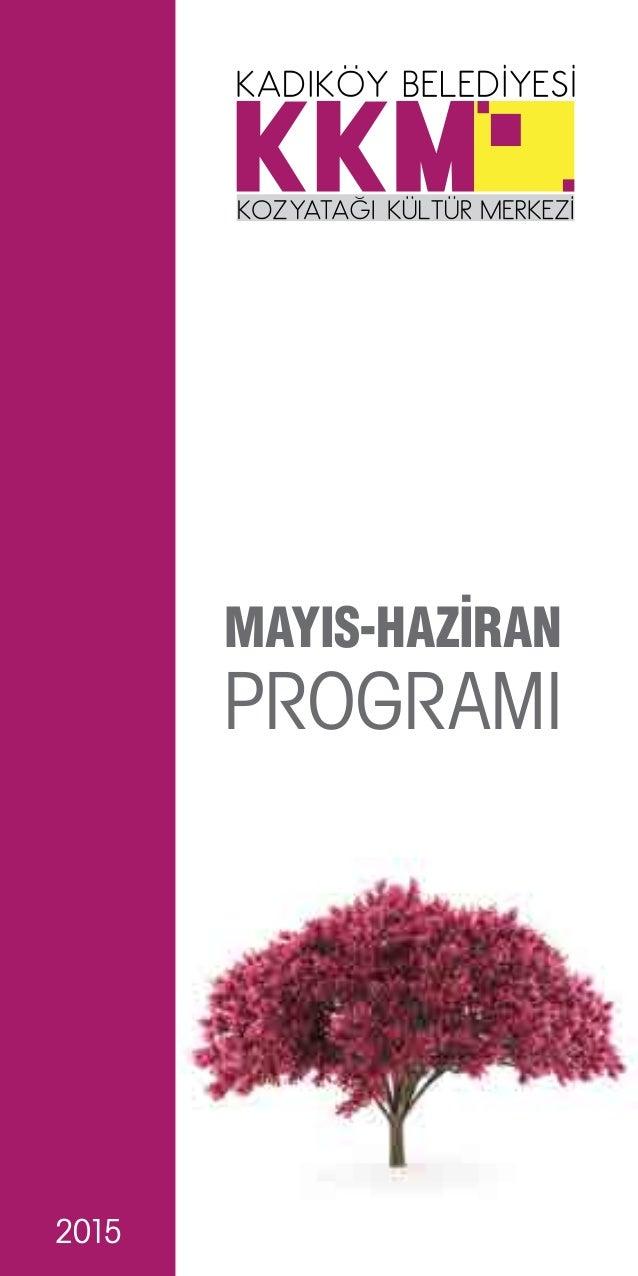2015 PROGRAMI MAYIS-HAZİRAN