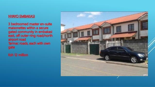 May june stocks Nairobi,sales and rentals