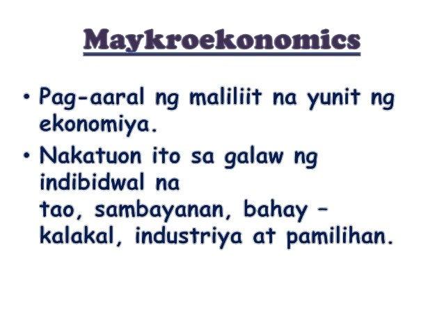 Maykro Ekonomiks Slide 2