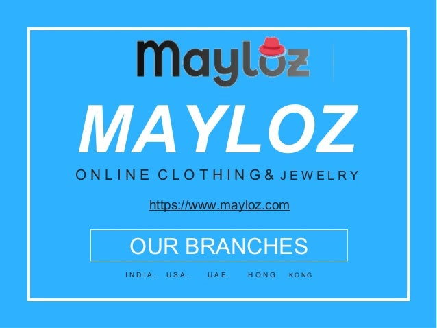 Mayloz - Indian Clothing & Jewelry at Best Price