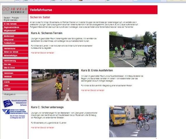 Comparison                 Course Content – Clients            IG Velo Switzerland           CTC - UKYounger     Complemen...
