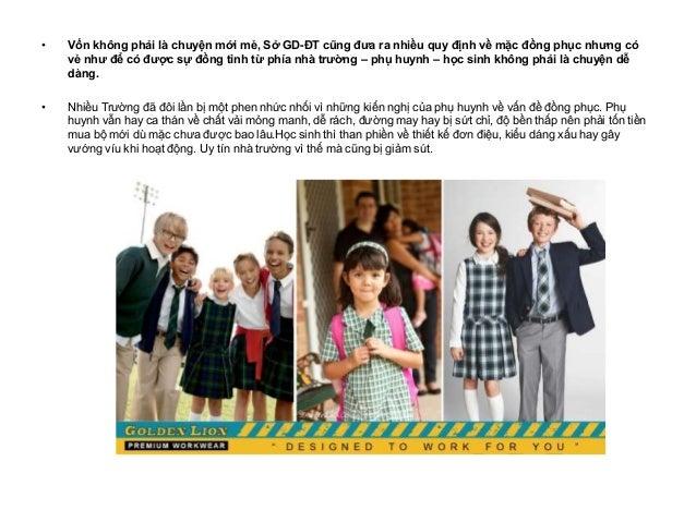 May đồng phục học sinh - Đâu là giải pháp tốt nhất cho nhà trường Slide 2